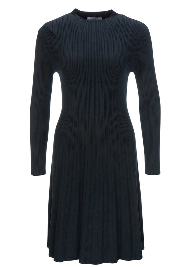 "Frogbox Strick Kleid ""Black"""