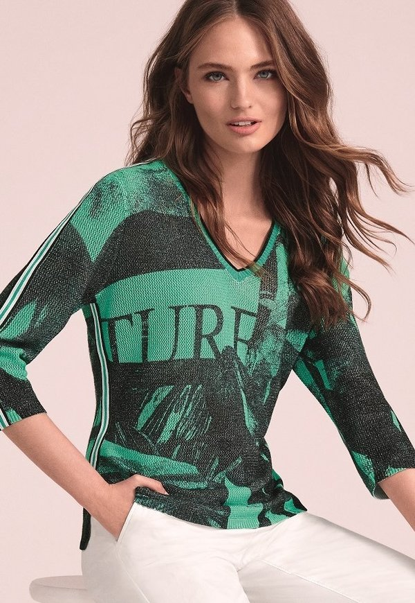 "Faber Woman Pullover ""Green Jungle"""