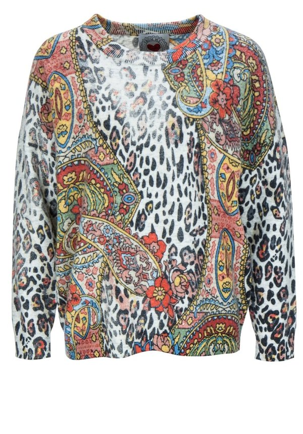 "Frogbox Pullover ""Leo Paisley"""